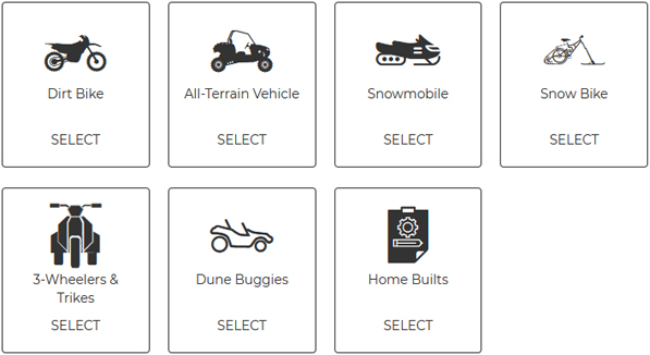 Select Vehicle
