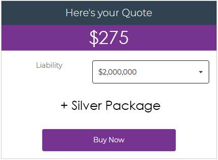 Wedding Insurance Cost