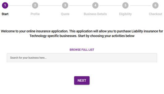 Tech Company Insurance